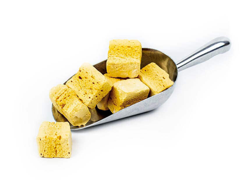 Bare Hokey Pokey (Honeycomb) Cubes
