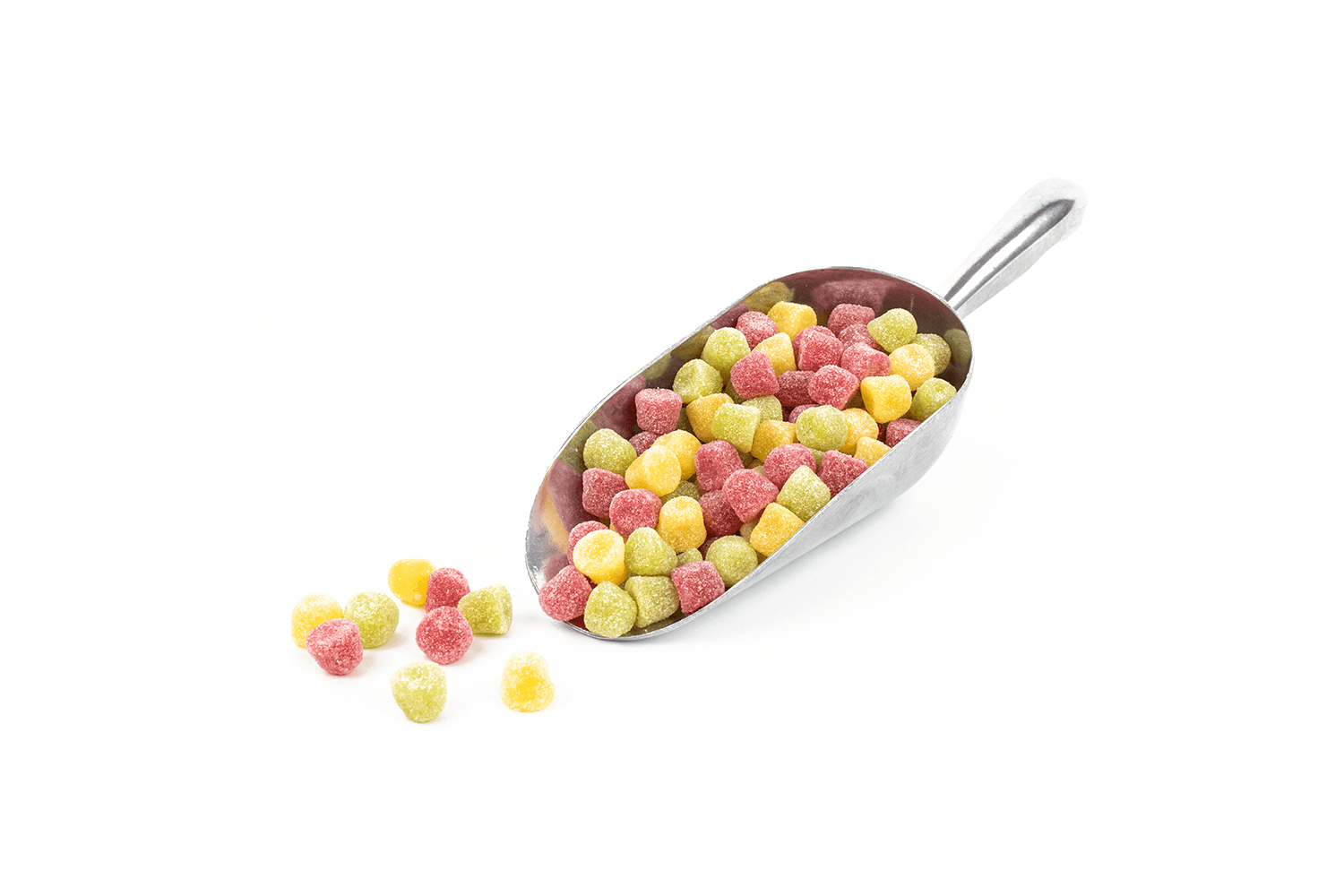 3 colour mini Fruit Drops