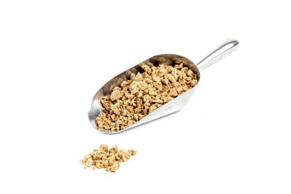3412 - Spicy Ginger Soft Crunch 2-12mm CB Coated in stainless steel scoop