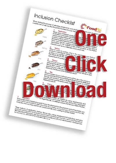One Click Download (inclusions checklist)