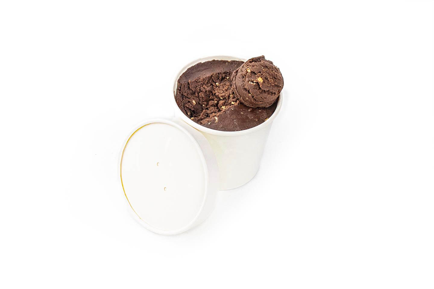 Small Gourmet Tub of Chocolate & Coffee Crunch Ice Cream
