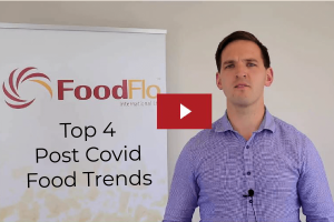 Food Trends Post Covid Header image with screenshot from video in article