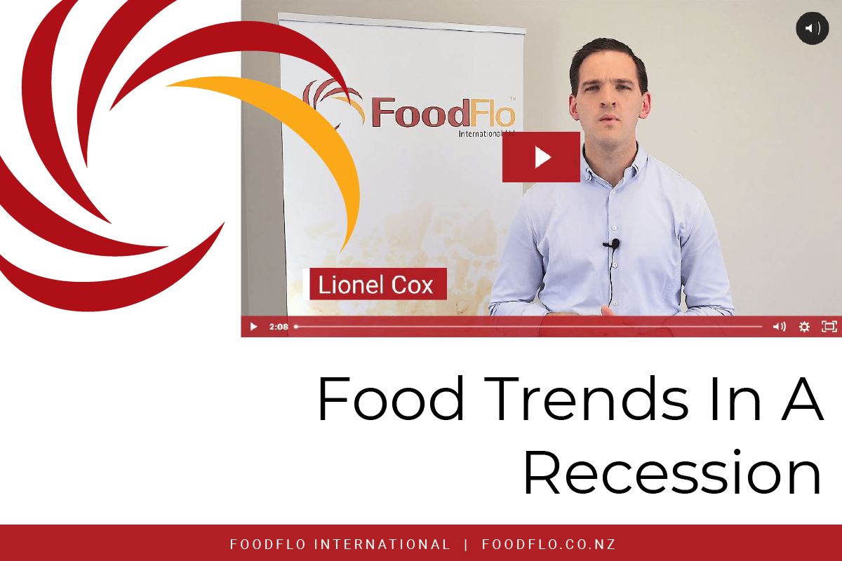 Food Trends in A Recession (video article) blog header image
