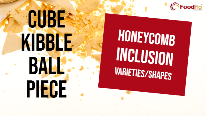 Honeycomb Inclusion Varieties and Shapes - Cube, Kibble, Ball & Piece