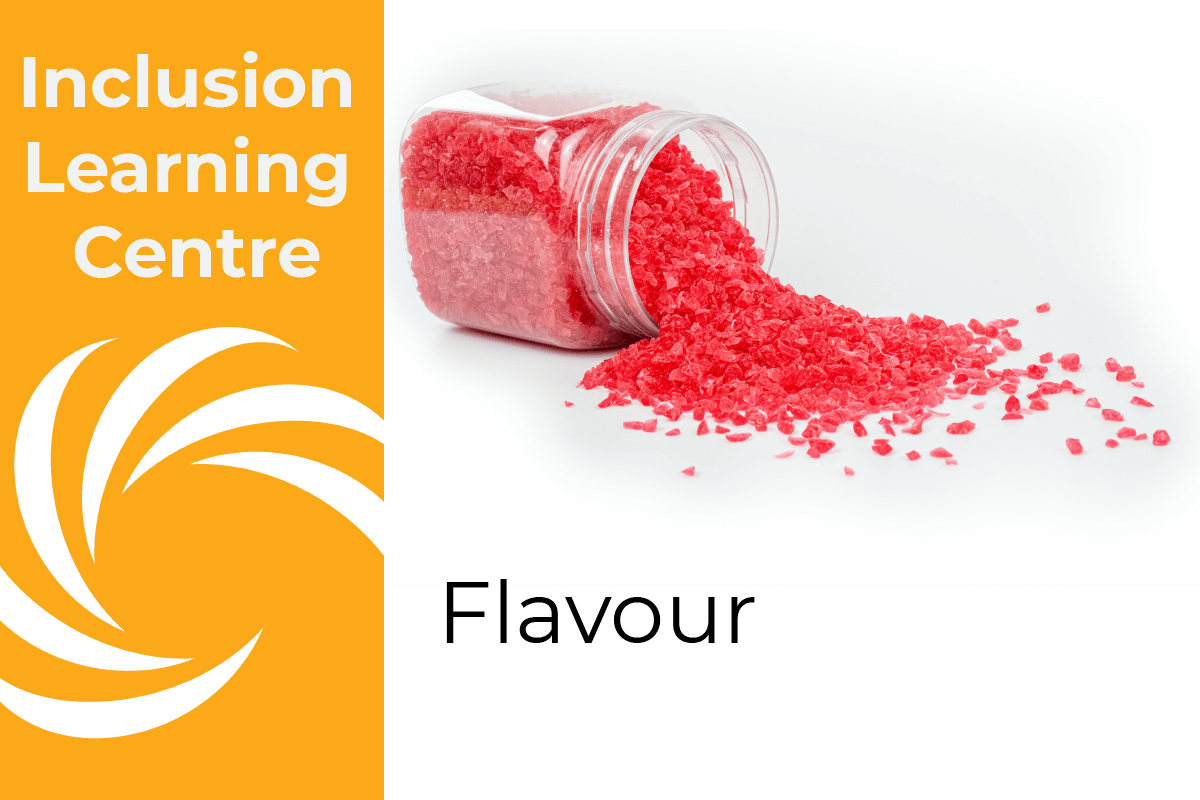 Inclusion Learning Centre - Flavour - Spilt Raspberry Kibble Jar