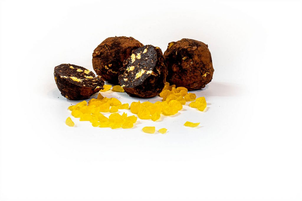 Jaffa - orange chocolate bliss balls