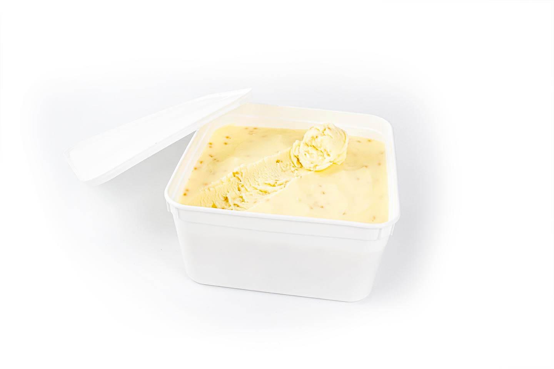 Value tub of Hokey Pokey ice cream