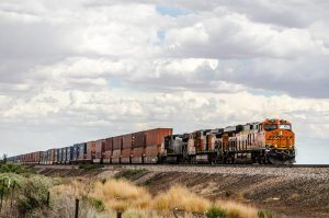 a-freight-train-hauls-containers